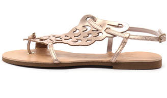 I Love Billy Kairos Rose gold Sandals Womens Shoes Casual Sandals-flat Sandals