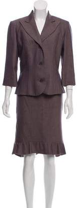 Chloé Wool Blend Skirt Suit