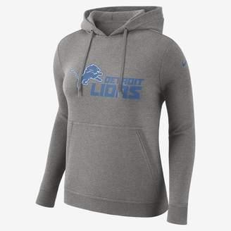 Nike Club (NFL Lions) Women's Pullover Hoodie