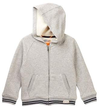 Tailor Vintage Faux Shearling Lined Fleece Hoodie (Toddler & Little Boys)