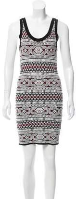 Torn By Ronny Kobo Sleeveless Scoop Neck Dress