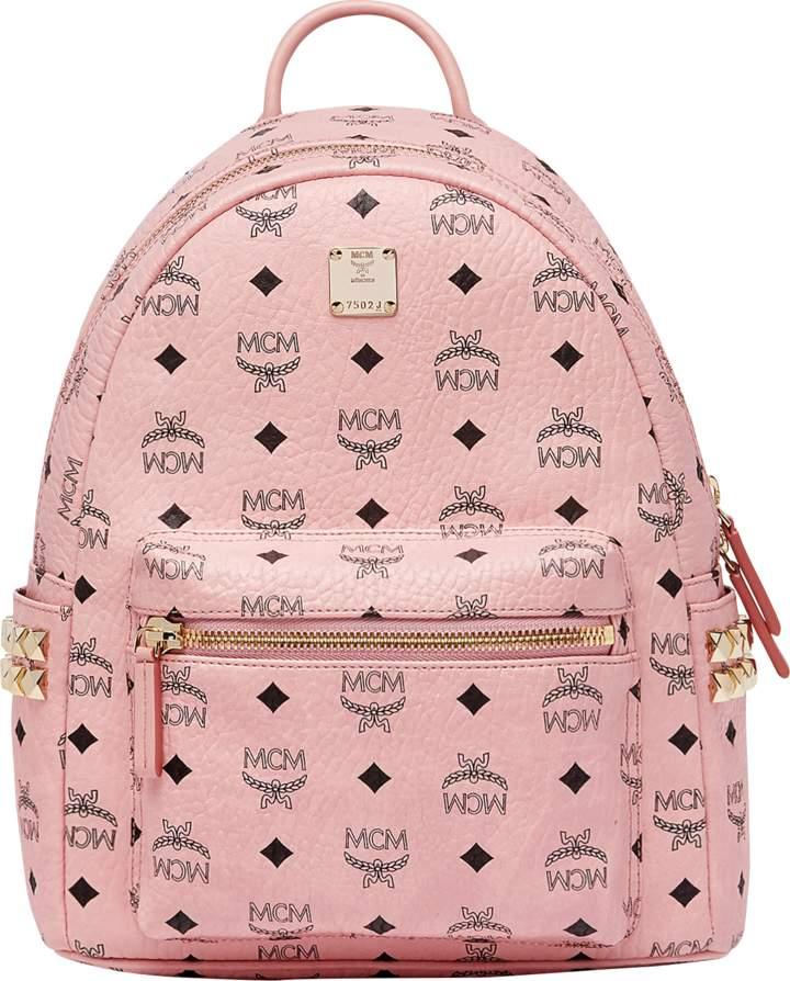 d07da23308 MCM Stark Side Studs Backpack In Visetos