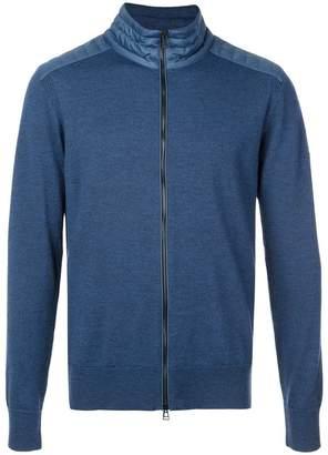 Belstaff zipped front cardigan