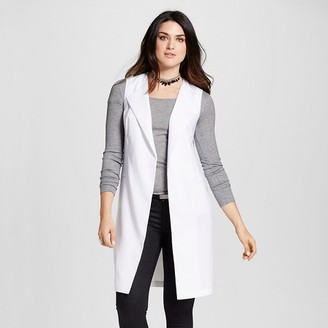 Mossimo Women's Long Vest with Pockets - Mossimo $27.99 thestylecure.com