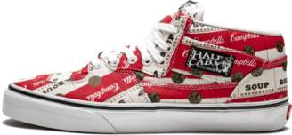 b61d298804 Vans Half Cab Pro Classic White Red  Supreme - Campbell s ...