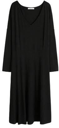 Violeta BY MANGO V-neckline dress