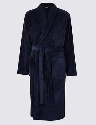 Mens Fleece Robe - ShopStyle UK
