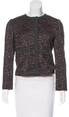 Dolce & Gabbana Guipure Lace Long Sleeve Jacket w/ Tags