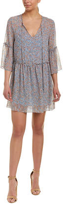 BCBGeneration Tie-Neck Shift Dress