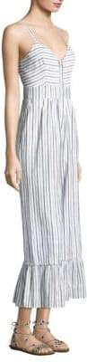 LoveShackFancy Edeline Stripe Jumpsuit