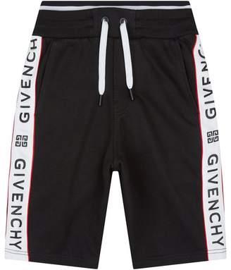 Givenchy Logo Sweat Shorts
