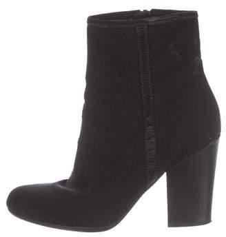 Prada Round-Toe Ankle Boots