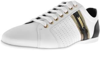 Versace Logo Trainers White