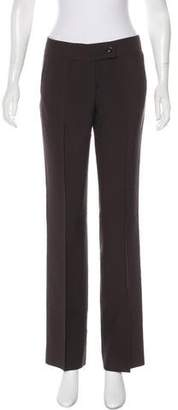 Valentino Mid-Rise Wide-Leg Pants