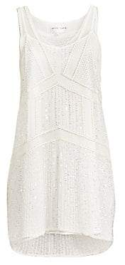 Antik Batik Women's Birma Beaded Tank Dress