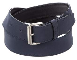 Prada Nylon Buckle Belt