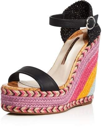 6154c0a84 Sophia Webster Women s Lucita Multicolor Wedge Espadrille Sandals