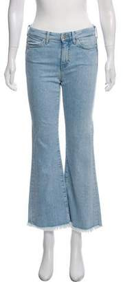 MiH Jeans Lou Mid-Rise Wide-Leg Jeans