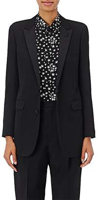 Saint Laurent Women's Piqué Two-Button Jacket
