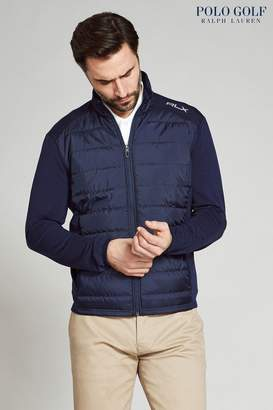 Next Mens Ralph Lauren RLX Navy Quilted Jacket