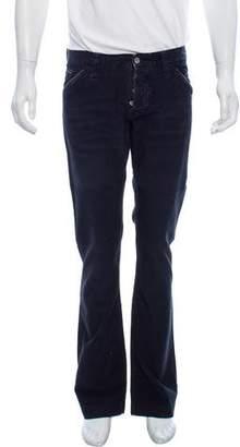 Dolce & Gabbana Straight-Leg Corduroy Pants