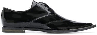 Haider Ackermann pointed toe lace-up shoes