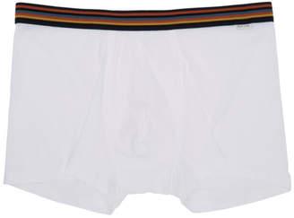 Paul Smith White Artist Stripe Boxers