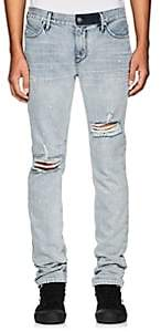 RtA Men's Distressed Skinny Jeans - Blue