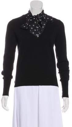 Veronica Beard Cashmere Long Sleeve Sweater