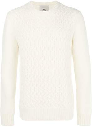 Eleventy cable knit jumper