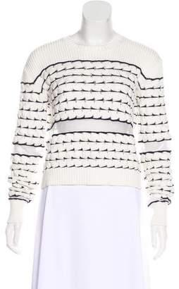Derek Lam Striped Knit Sweater