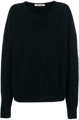 Barena round neck baggy sweater