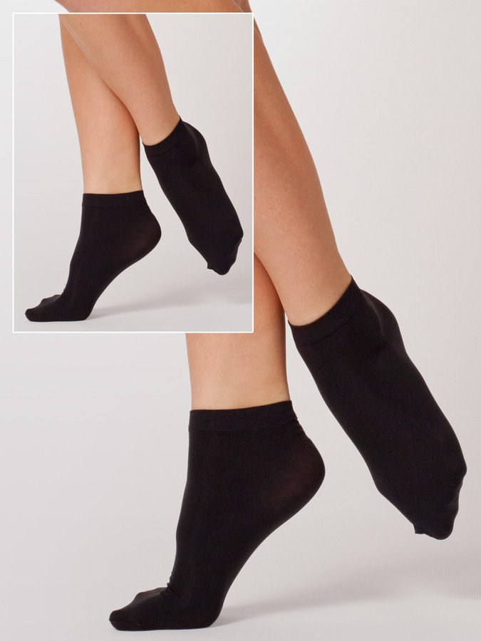 American Apparel Opaque Ankle Sock (2-Pack)