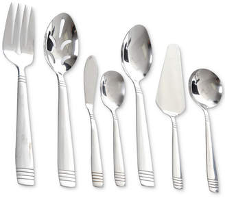 Gibson Palmore Plus 55-Pc. Stainless Steel Flatware & Serving Set, Service for 8