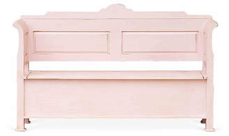 One Kings Lane Cordelia Storage Bench - Pink