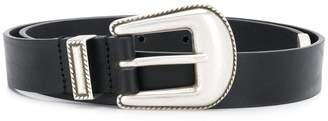 Philosophy di Lorenzo Serafini Western buckle belt