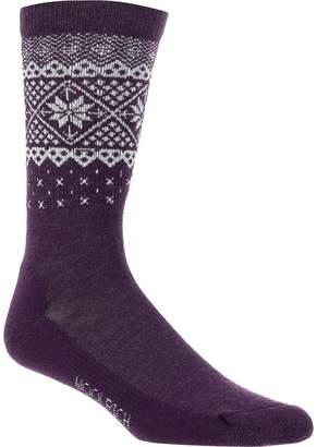 Woolrich Snow Flake Border Sock - Women's