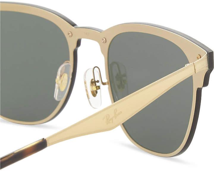 cfe3e9b3b84 Burberry Blaze Clubmaster square-frame sunglasses detail image