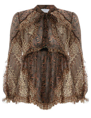 Zimmermann Tali Batik Floating Top