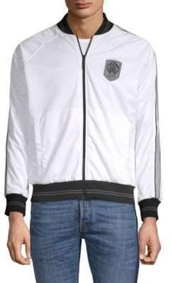 Roberto Cavalli Full-Zip Bomber Jacket