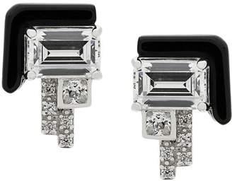 Elodie K V Jewellery stud earrings