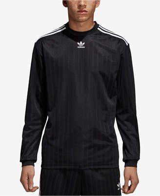 adidas Men's Originals Long-Sleeve Soccer Shirt