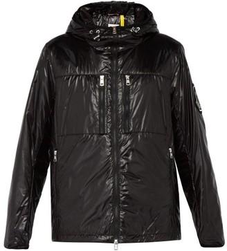 Moncler 2 1952 - Logo Applique Hooded Padded Jacket - Mens - Black
