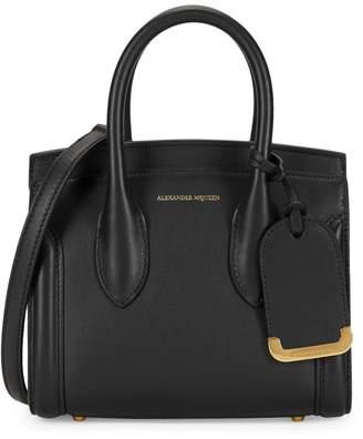 Alexander McQueen Heroine 21 Leather Tote Crossbody Bag
