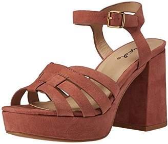 Qupid Women's Lawson-04 Platform Sandal