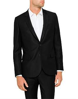 Paul Smith Wool Pique Mid Fit Suit Jacket
