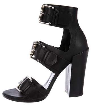 Proenza Schouler Leather Caged Sandals