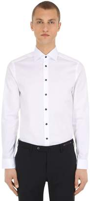 Eton Slim Fit Cotton Twill Shirt