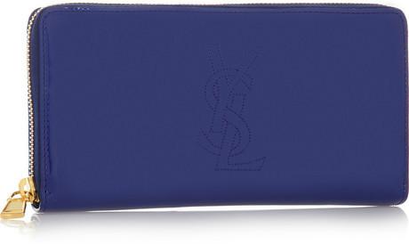 Saint Laurent Belle de Jour patent-leather wallet