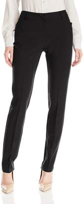 Tribal Women's Soft Twill Bi-Stretch Slim Leg Pant